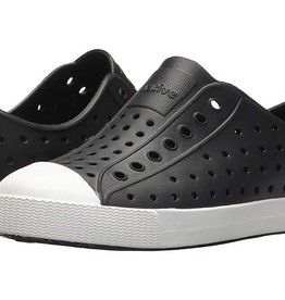 Native Shoes Jefferson Kids - Jiffy Black/Shell White