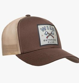Wild Outdoors Club Axes Snapback