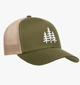 Wild Outdoors Club Pines Embroidered Snapback