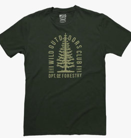 Wild Outdoors Club Forestry Men's  Tee