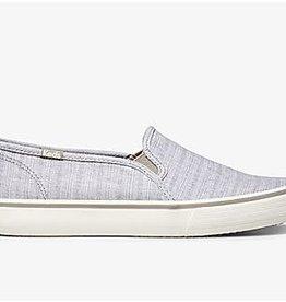 Keds Keds Women's Double Decker -Grey Stripe