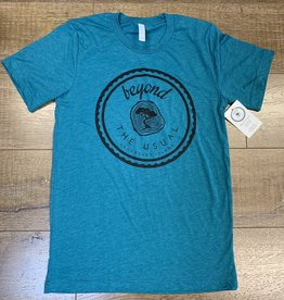 Beyond The Usual BTU Men's Icon Tee - Teal
