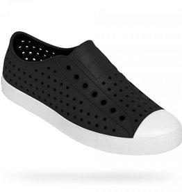 Native Shoes Jefferson Adult - Jiffy Black/Shell White