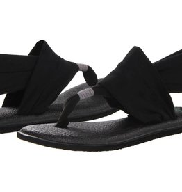 Sanuk Ladie's Yoga Sling 2 Sandals - Black