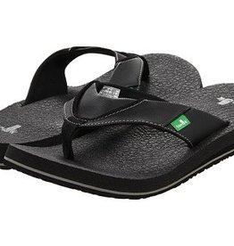 Sanuk Beer Cozy Sandals - Black