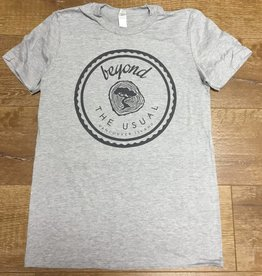 Beyond The Usual Icon Tee Men's - Heather Grey
