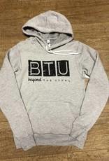 Beyond The Usual BTU Logo Unisex Hoodie Athl Heather
