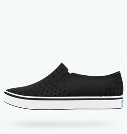 Native Shoes Miles Child Jiffy Black Shell White