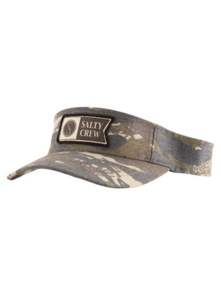 New Salty Crew Alpha Stamped Hat Camo