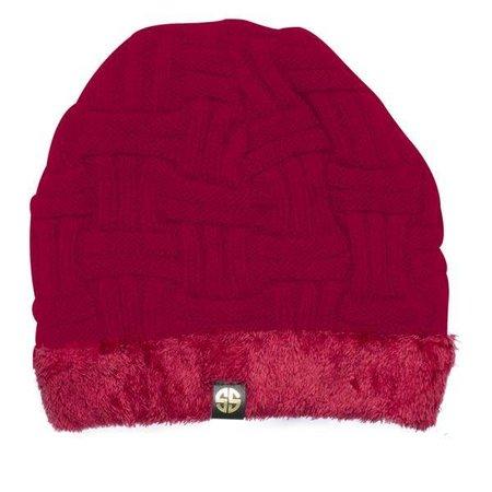 Scarlet Sherpa Beanie