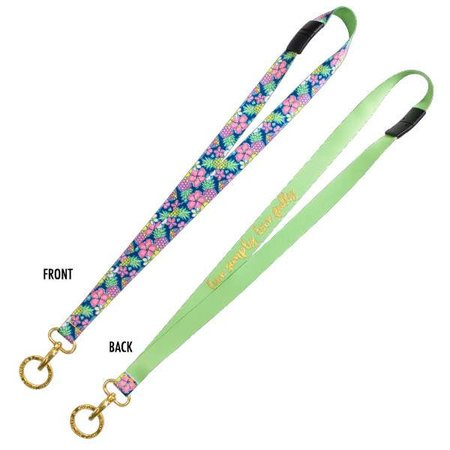 Break Away Lanyard Pine Floral