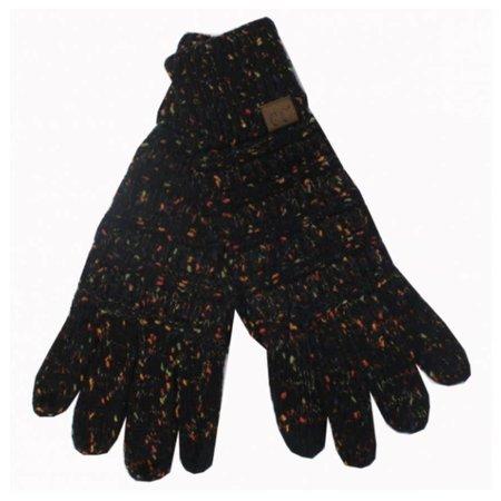CC Smart Tip Black Speckled Gloves