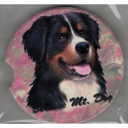 Bernese Mt. Dog Car Coaster