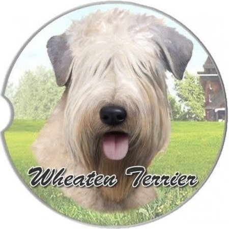 Soft Coated Wheaten Terrier Car Coaster