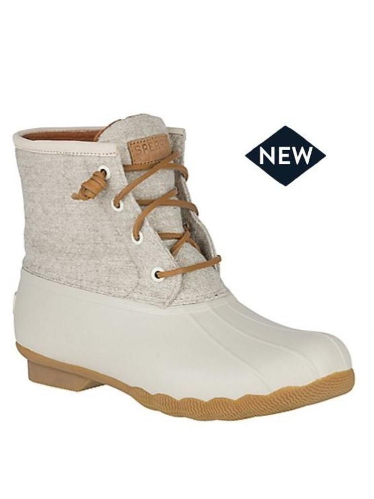 Sperry Top-Sider Sperry Top-Sider Saltwater Emboss Wool Off White ... eff00ee8d909