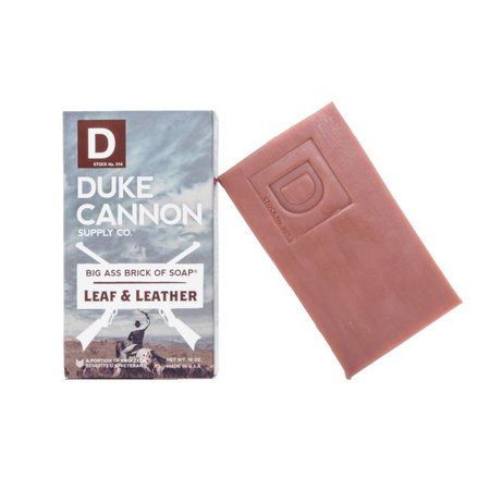 Big Ass Brick of Soap Leaf & Leather