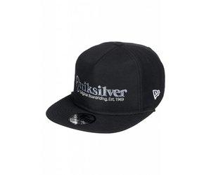 new products 4041d e4a5d Quiksilver Pine Dropper Snapback Hat Black - Papa s General Store
