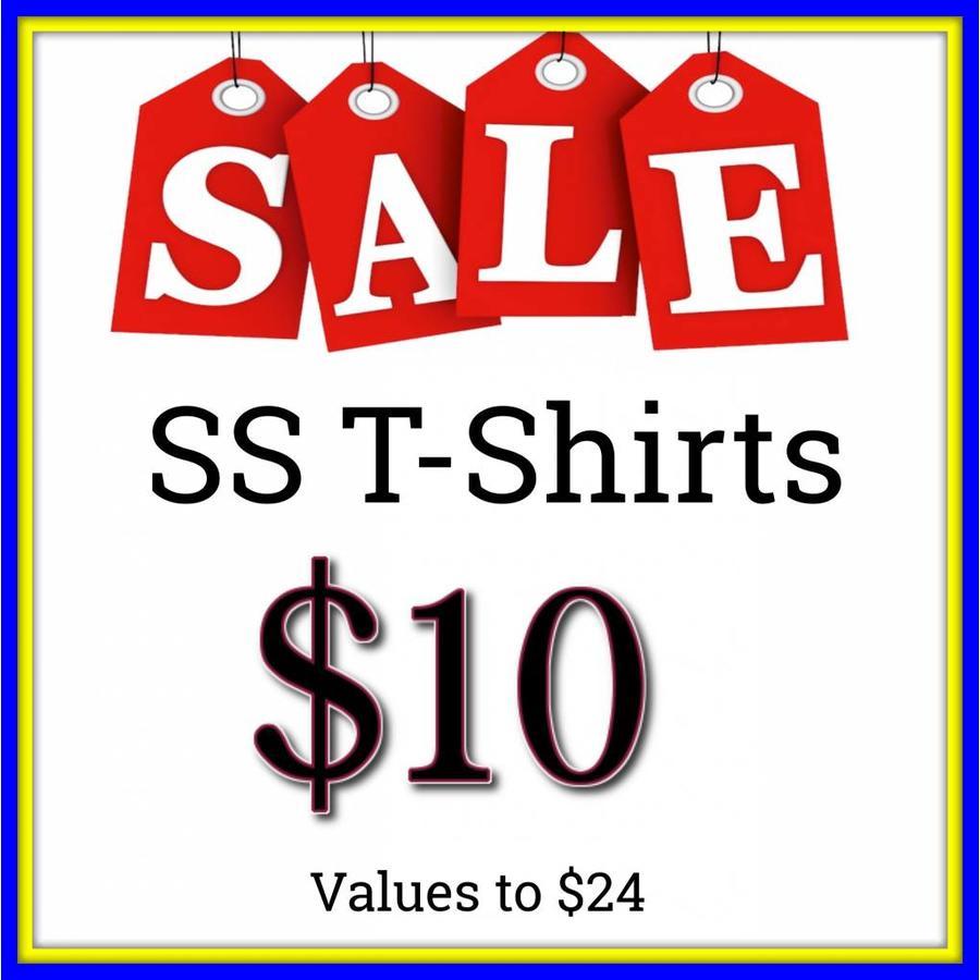 Short Sleeve T-Shirts $10