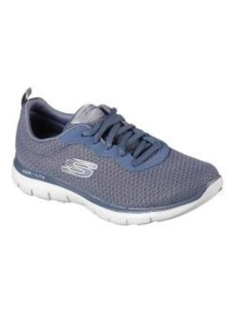 111c733199f6 Skechers Flex Appeal 2.0 Newsmaker Training Sneaker Slate