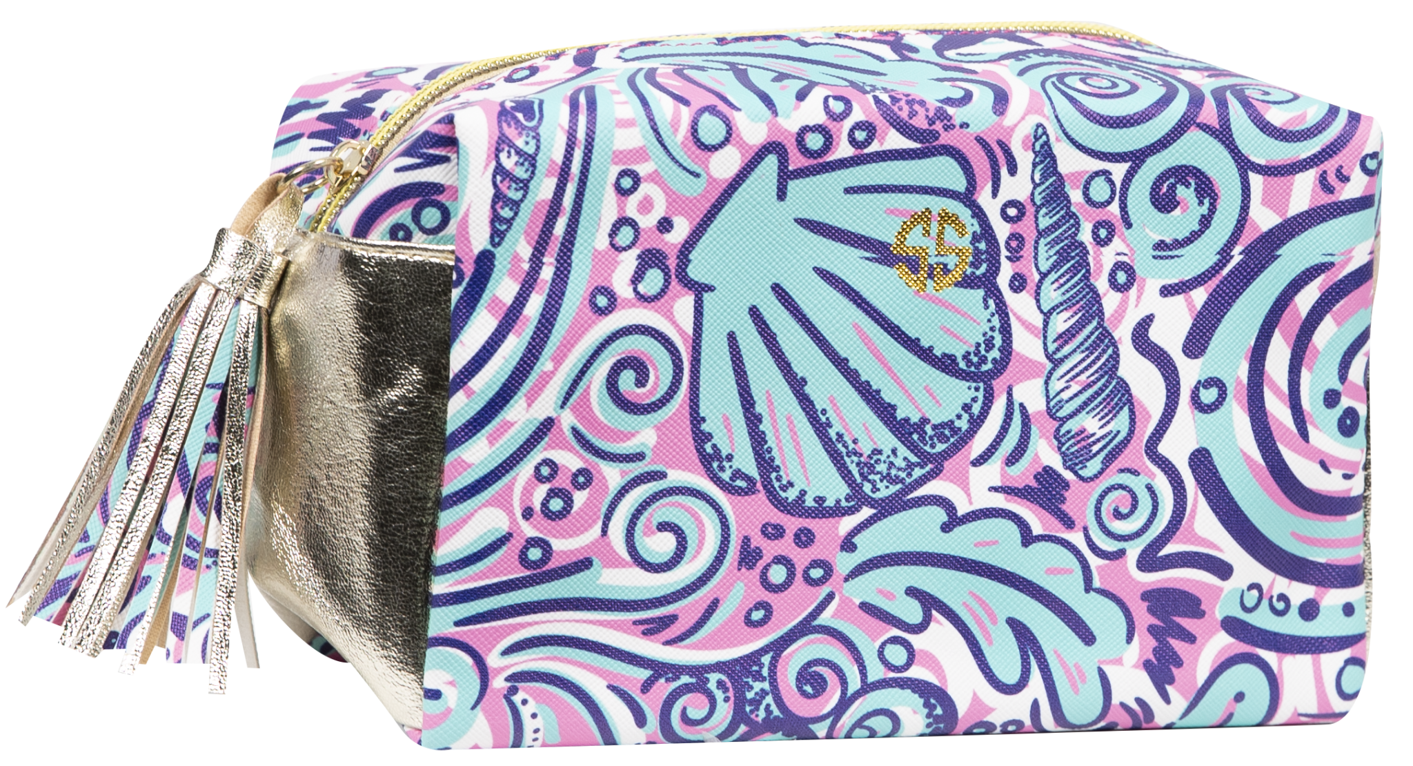 0c92c4099ab5de Simply Southern Swirly Cosmetic Bag - Papa s General Store