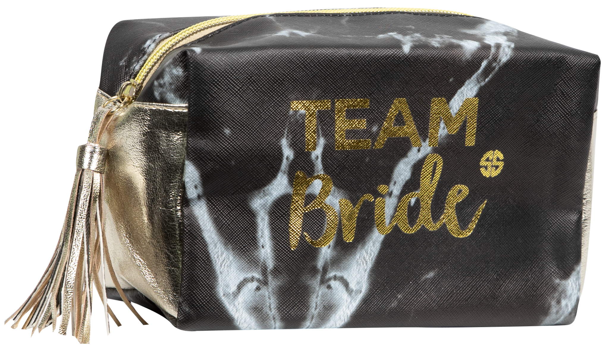 4c80e6ee3eb67f Simply Southern Team Bride Cosmetic Bag - Papa s General Store