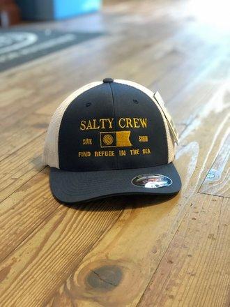 69368326fdee Salty Crew Essentials Retro Trucker Navy