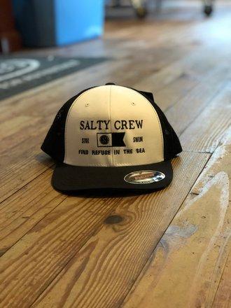 online store d4d37 3afe9 Salty Crew Salty Crew Essentials Retro Trucker White Black