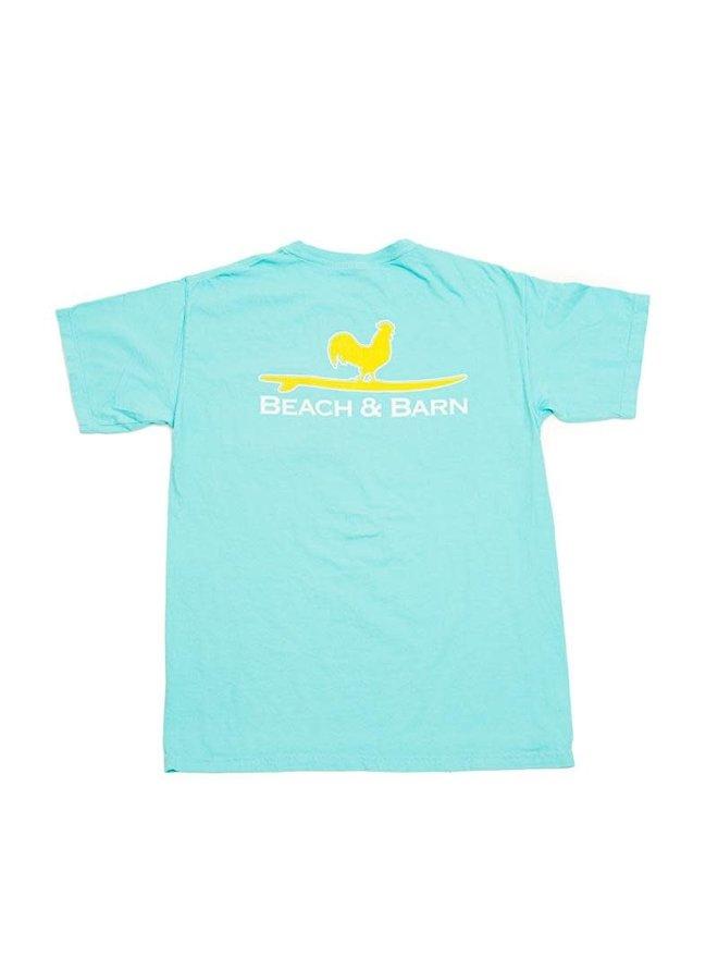 e4efec6da0aee Surfing Rooster™ Pocket Tee Lagoon