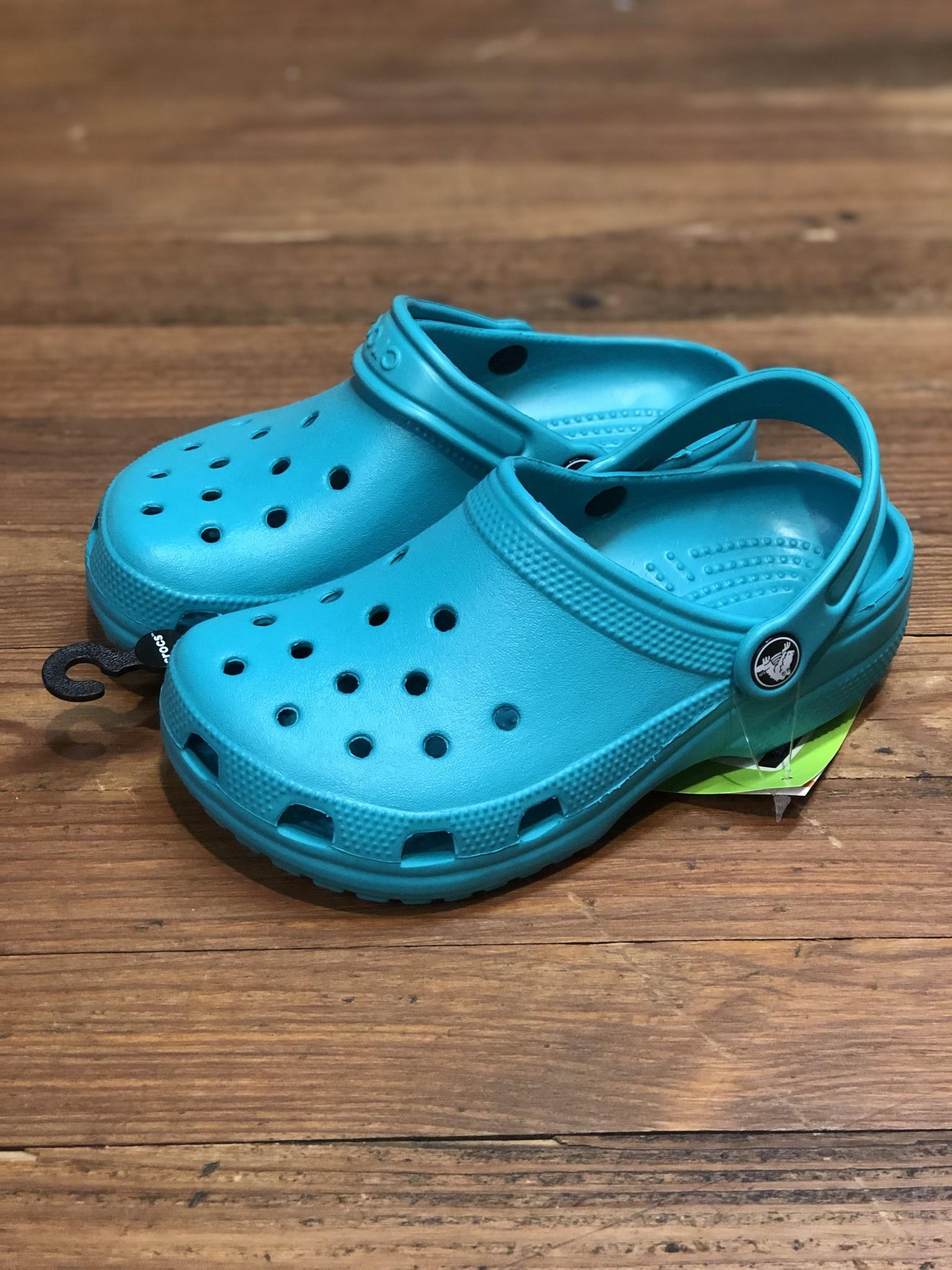 Crocs Classic Kids Clogs Tropical Teal