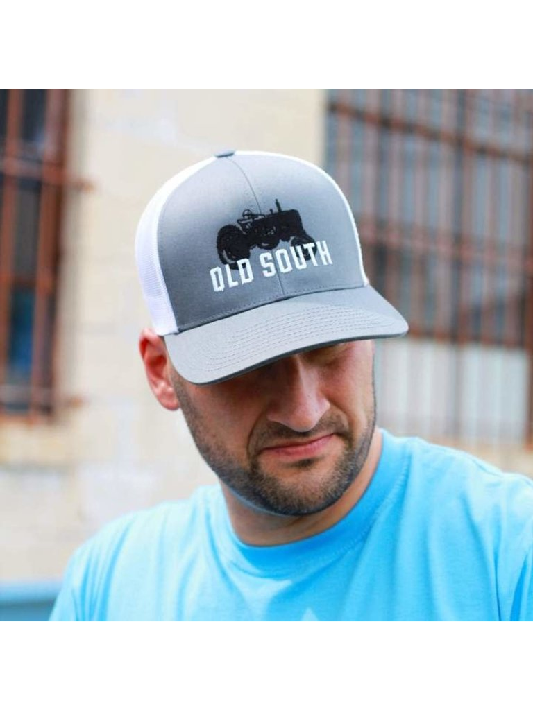 Trucker Hat Old South Apparel GA Letter