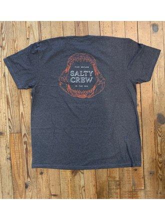 New Black Salty Crew Alpha SS T-Shirt