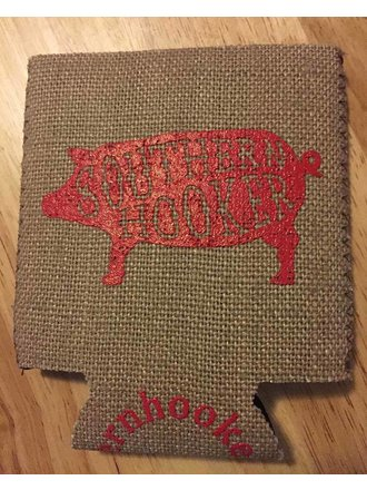 b979653bf9ab6 Southern Hooker Southern Hooker Drink Huggers. Red  Burlap  Camouflage