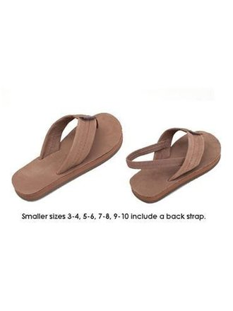 c70ceb5df649 Rainbow Sandals Kids Premier Leather Dark Brown