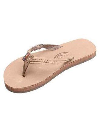 4469391173df Rainbow Sandals Kids Leather Flirty Braidy