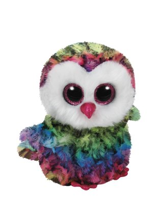3efbf94fd8d Ty Owen the Rainbow Owl Beanie Boo 6