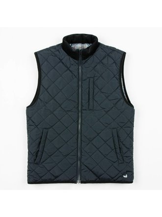 56968dc678f70 Southern Marsh Men's Perry Quilted Vest Navy