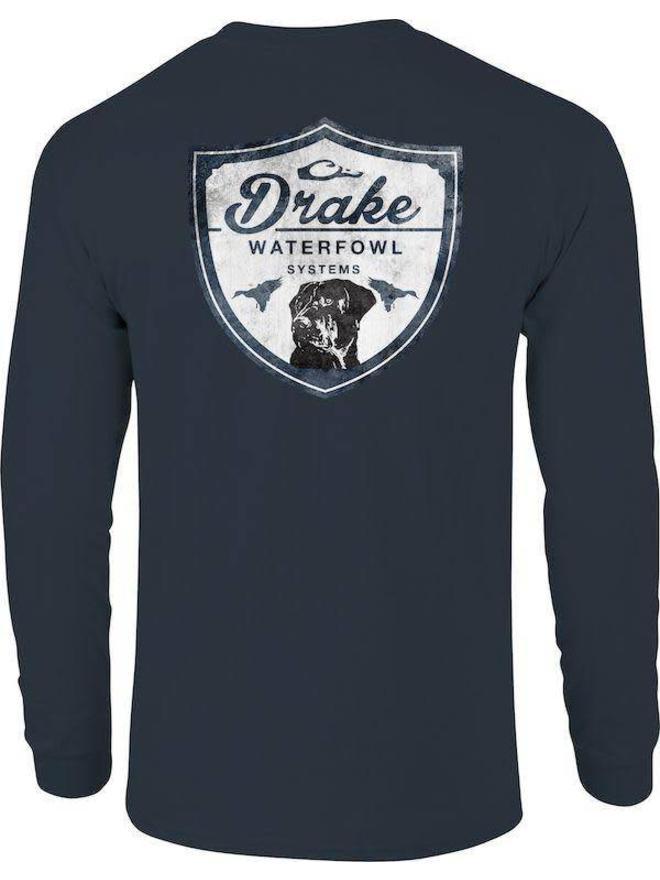 Drake Waterfowl South Carolina Wingshooter Long Sleeve Shirt SD-SCA-2671-BLK
