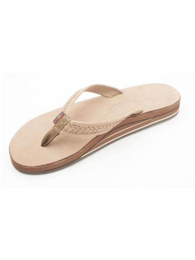 fd74b98af The Willow Premier Leather Double Layer DKBR. $60.00. Rainbow Sandals