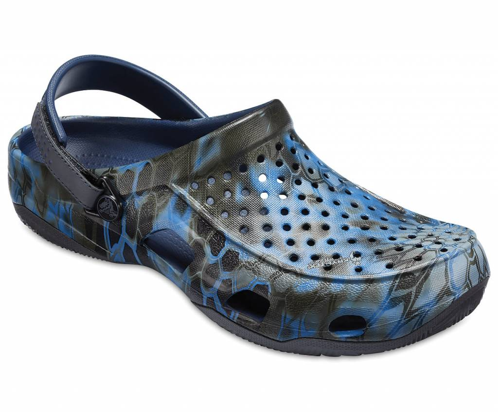 e8d7679a6eaf Men s Crocs Swiftwater Kryptek® Neptune Deck Clog - Papa s General Store