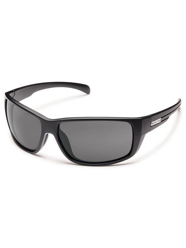 ae5500b51d Milestone - Matte Black Gray Polarized Polycarbonate.  49.99. Suncloud  Optics