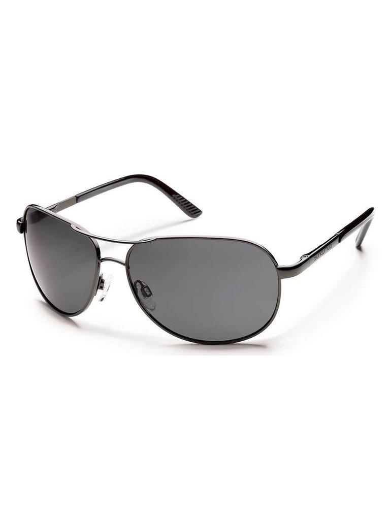 a277692720 Aviator - Gunmetal Gray Polarized Polycarbonate.  59.99. Suncloud Optics