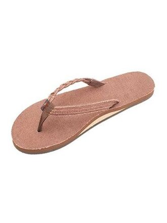 5298f7208 Rainbow Sandals Hemp Flirty Braidy Brown