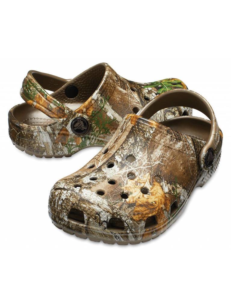 de5ec781c4b1 Crocs Classic Realtree® Edge Clog Unisex Kids Walnut - Papa s General Store