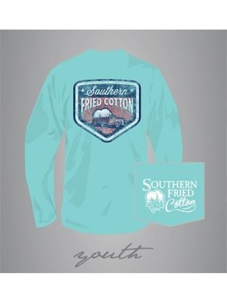 dac6b77e Southern Fried Cotton 100% Youth Long Sleeve