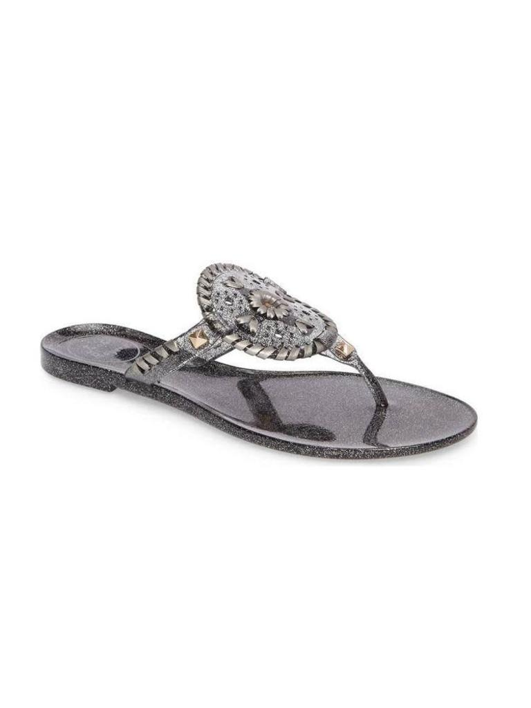 3213bf7c9c61 Jack Rogers Sparkle Georgica Jelly Black - Papa s General Store