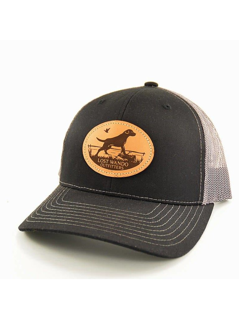 67a97800 Lost Wando Marsh Lab Black | Charcoal Hat - Papa's General Store
