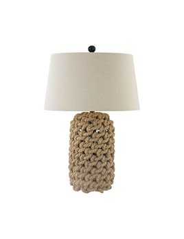Nature Rope and Oil Rubbed Bronze Lamp
