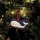 Whale Ornament Needlepoint