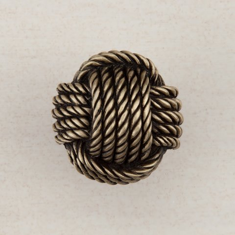 Monkey's Fist Brass Knob