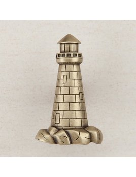 Lighthouse Brass Knob